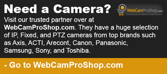 WebCamProShop - Security Cameras and More