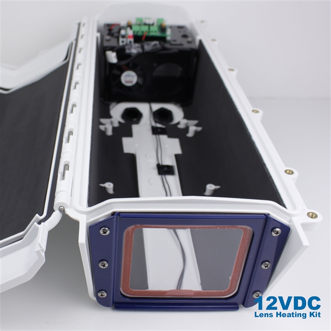 12VDC Lens Heating Kit for S-Type Camera Enclosures from Dotworkz (KT-LSHT)