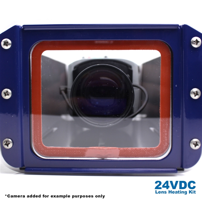 24VDC Lens Heating Kit for S-Type Camera Enclosures from Dotworkz (KT-LSHT)