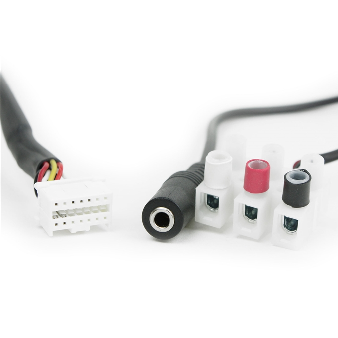 Axis 2 in 1 Power & Audio Cable Accessory for P55 & Q60 Cameras from Dotworkz (KT-AXPA)