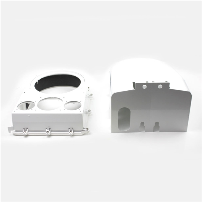 Ballistic Shield 16GA for D2 Cooldome Camera Enclosures from Dotworkz (KT-SHIELD-CD)