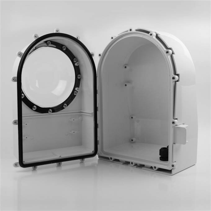 Ballistic Shield Kit for all D2 Camera Enclosures from Dotworkz (KT-Shield)