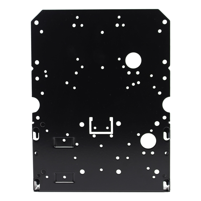 Custom Bracket Internal Accessory Component Mounting Plate from Dotworkz (BR-ACC50)