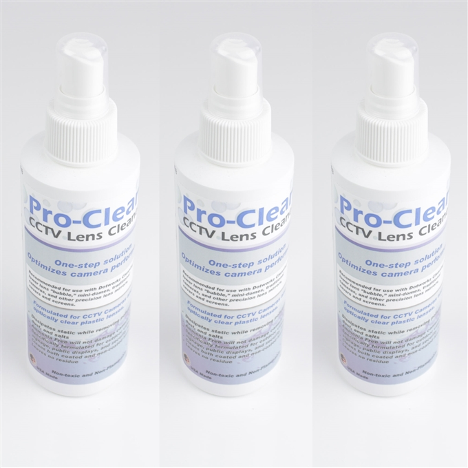DomeCleaner Pro-Clean Cleaning Solution 3 Pack from Dotworkz (DW-3PROCL)