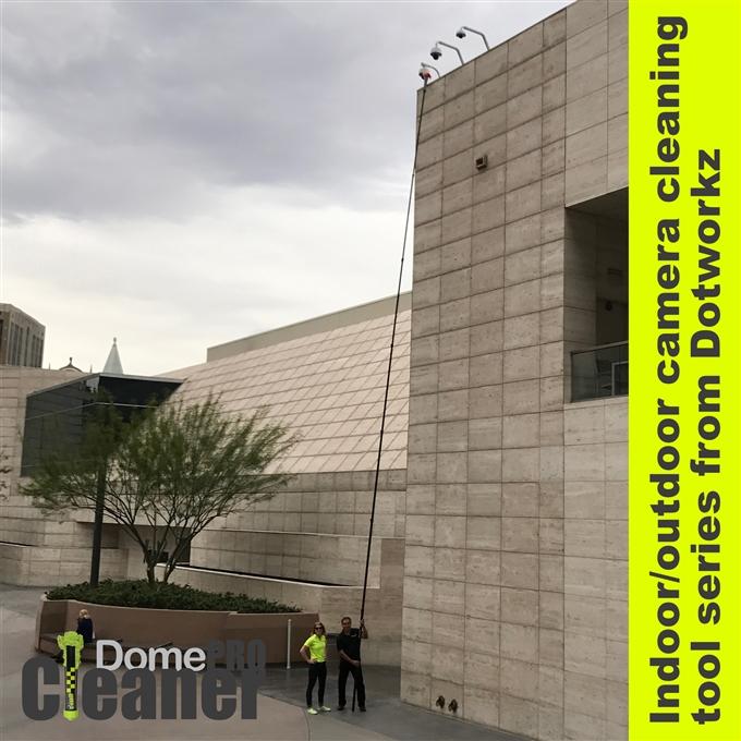 DomeCleanerPRO 25 Foot Carbon Fiber Extension Pole (DW-EP25)
