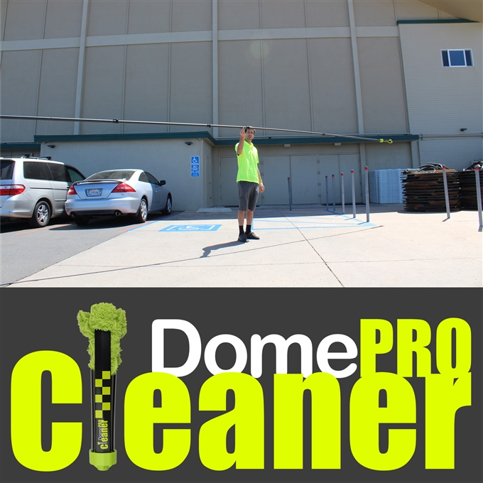 DomeCleanerPRO 25 Series Indoor/Outdoor Lens Cleaning Solution from Dotworkz (DW-PKG25-PRO)
