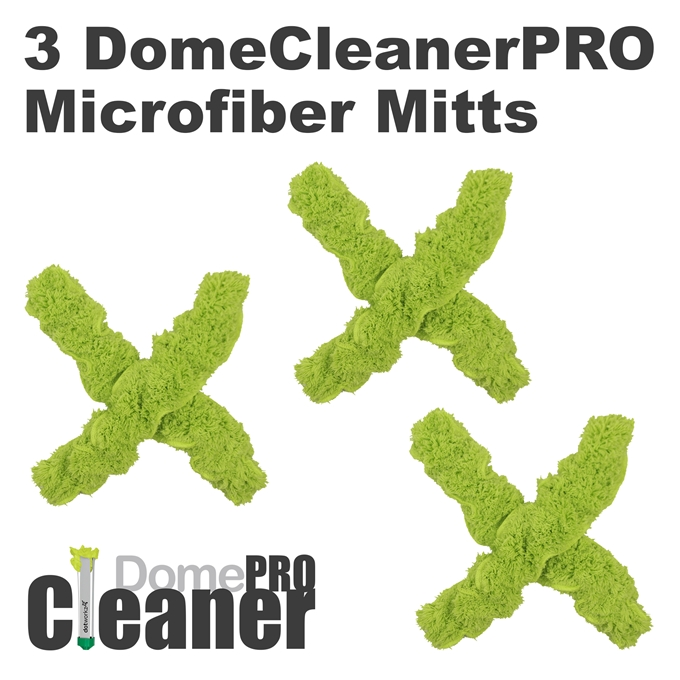 DomeWizard Pro Replacement Mitt 3 Pack from Dotworkz (DW-3MIT-PRO)