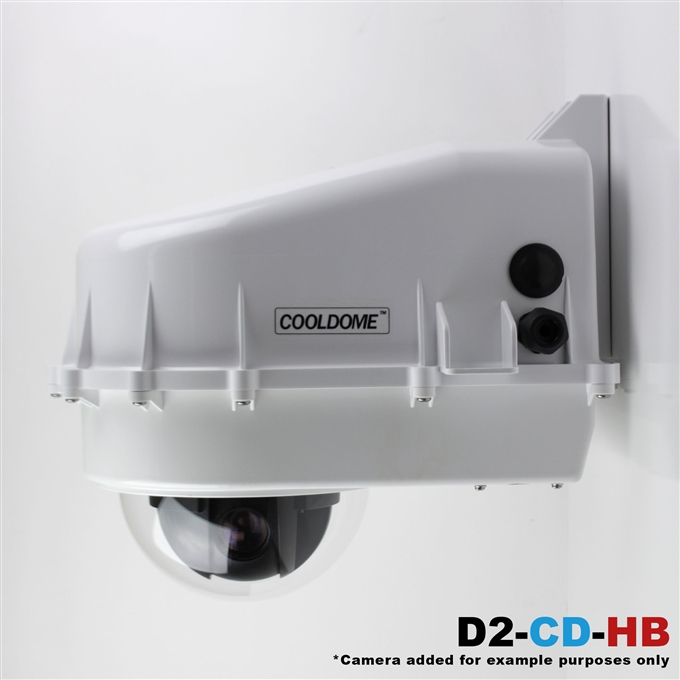 Dotworkz D2 COOLDOME™ Active Cooling and Heater Blower Camera Enclosure IP66 (D2-CD-HB)