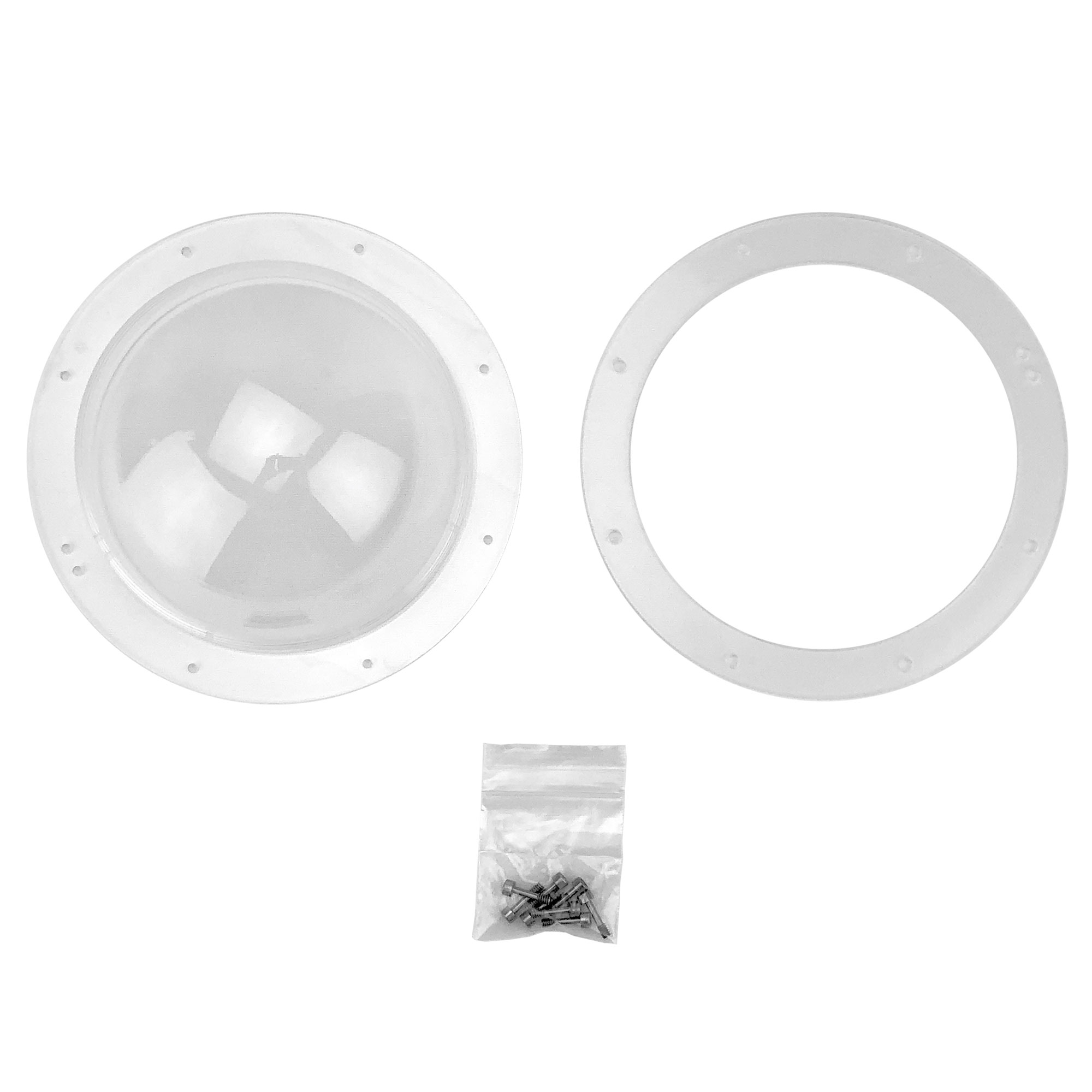 Half Sphere Lens For BASH - Clear Lens Option (AC-HS-LENS-C)