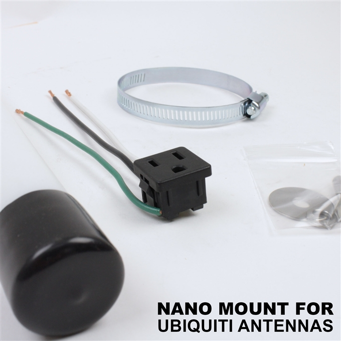 Nano Mount for Ubiquiti antennas: PowerBeam & NanoStation from Dotworkz (KT-UBNT-NANO)