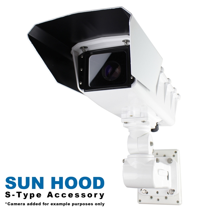 Sun Hood Kit for S-Type Static Camera Enclosures from Dotworkz (KT-HOOD)