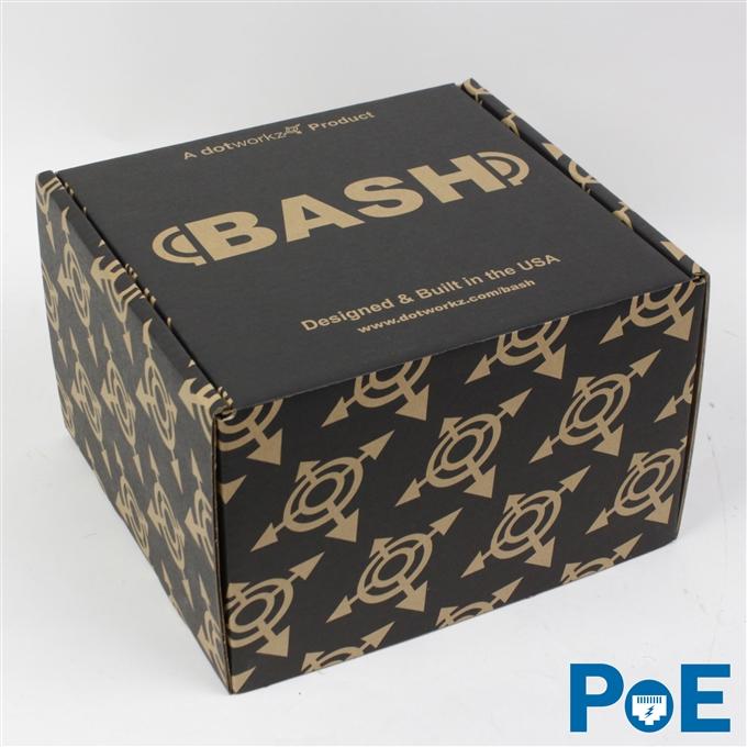 Dotworkz BASH All-Pro with PoE IP68 Camera Enclosure (BASH-HB-POE)