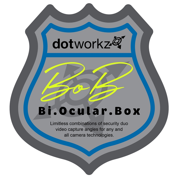 Dotworkz B.O.B. (Bi-Ocular Box) IP66 City Surveillance POD CCTV Camera Cabinet Housing BOB-BASE)