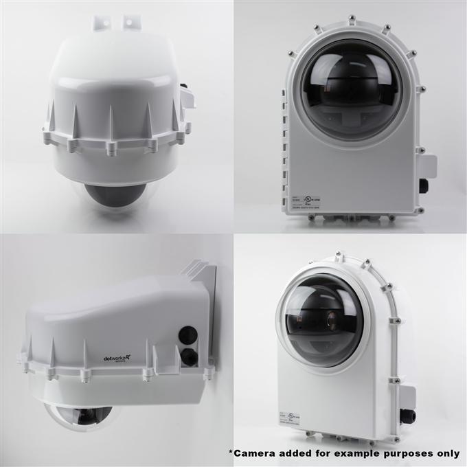 Dotworkz D2 Base Model Camera Enclosure IP68 (D2-BASE)