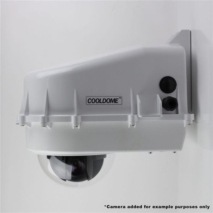 Dotworkz D2 COOLDOME™ 24VDC Active Cooling Camera Enclosure IP66 (D2-CD-24V)