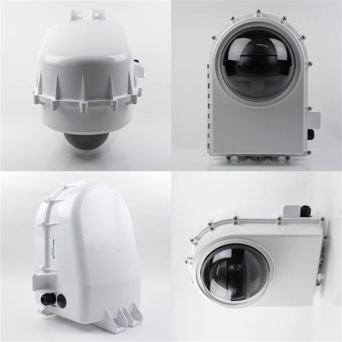 Dotworkz D2 Tornado Dual Blower Camera Enclosure IP68 with MVP (D2-TR-MVP)
