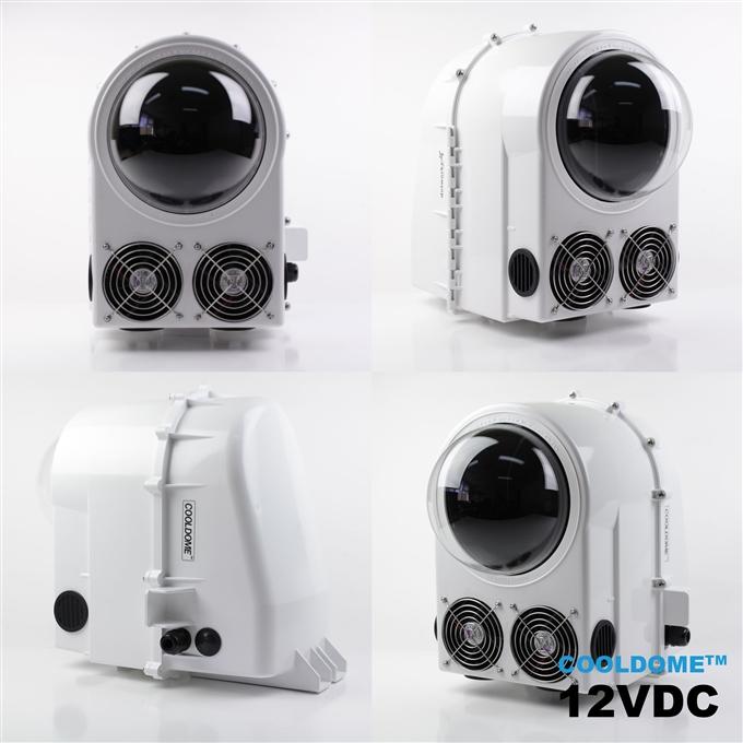 Dotworkz D3 COOLDOME™ 12VDC Active Cooling Camera Enclosure IP66 (D3-CD)