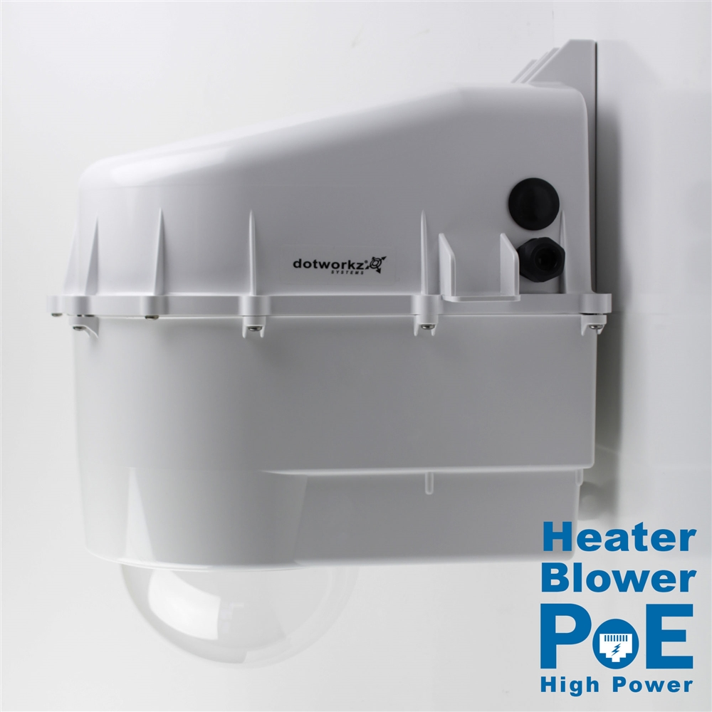 Dotworkz D3 Heater Blower Camera Enclosure Ip68 With 60w