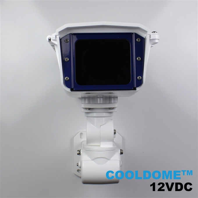 Dotworkz S-Type COOLDOME™ 12V Active Cooling Camera Enclosure and Aluminum Arm IP66 (ST-CD)