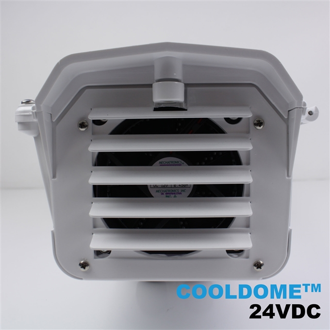 Dotworkz S-Type COOLDOME™ 24V Active Cooling Camera Enclosure and Aluminum Arm IP66 (ST-CD-24V)
