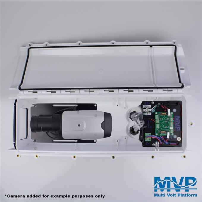 Dotworkz S-Type Heater Blower Camera Enclosure and Stainless Steel Arm (ST-HB-MVP-SS)