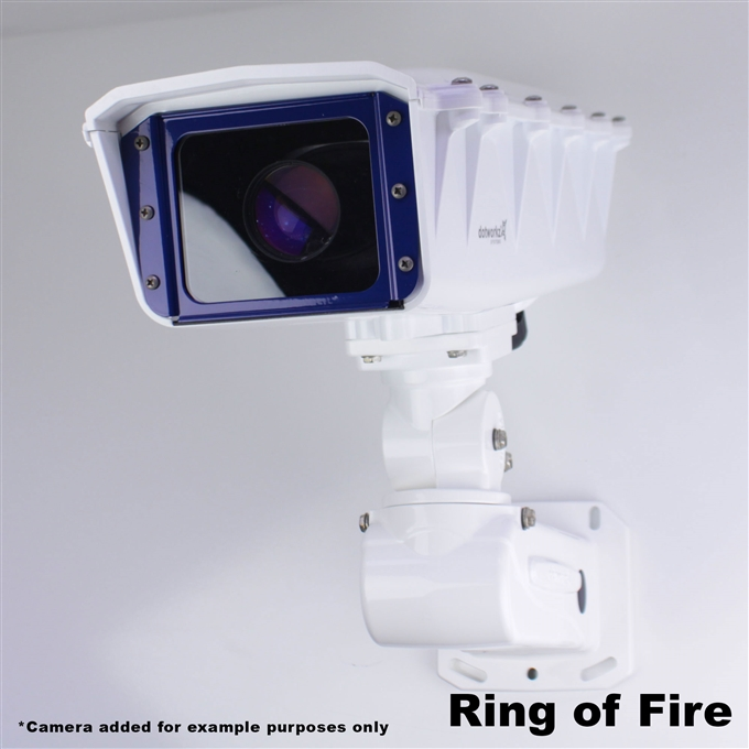 Dotworkz S-Type Ring of Fire De-Icing Camera Enclosure and Aluminum Arm IP66 (ST-RF-MVP)