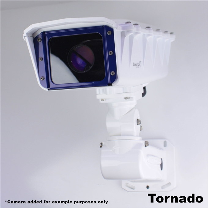 Dotworkz S-Type Tornado Dual Blower Camera Enclosure and Aluminum Arm IP66 (ST-TR-MVP)