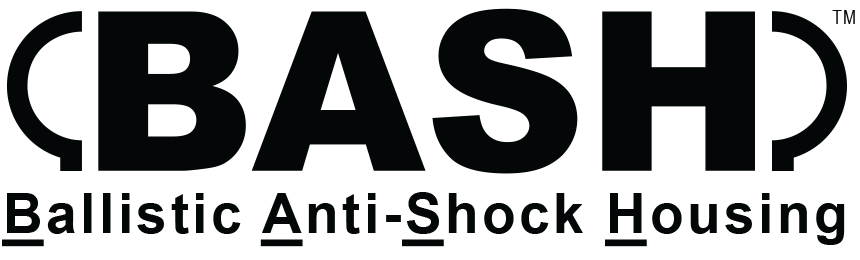 BASH Logo Ballistic Anti-Shock Housing