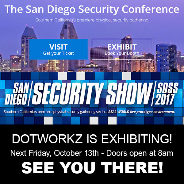 Dotworkz 2017 San Diego Security Conference 2017 See You There
