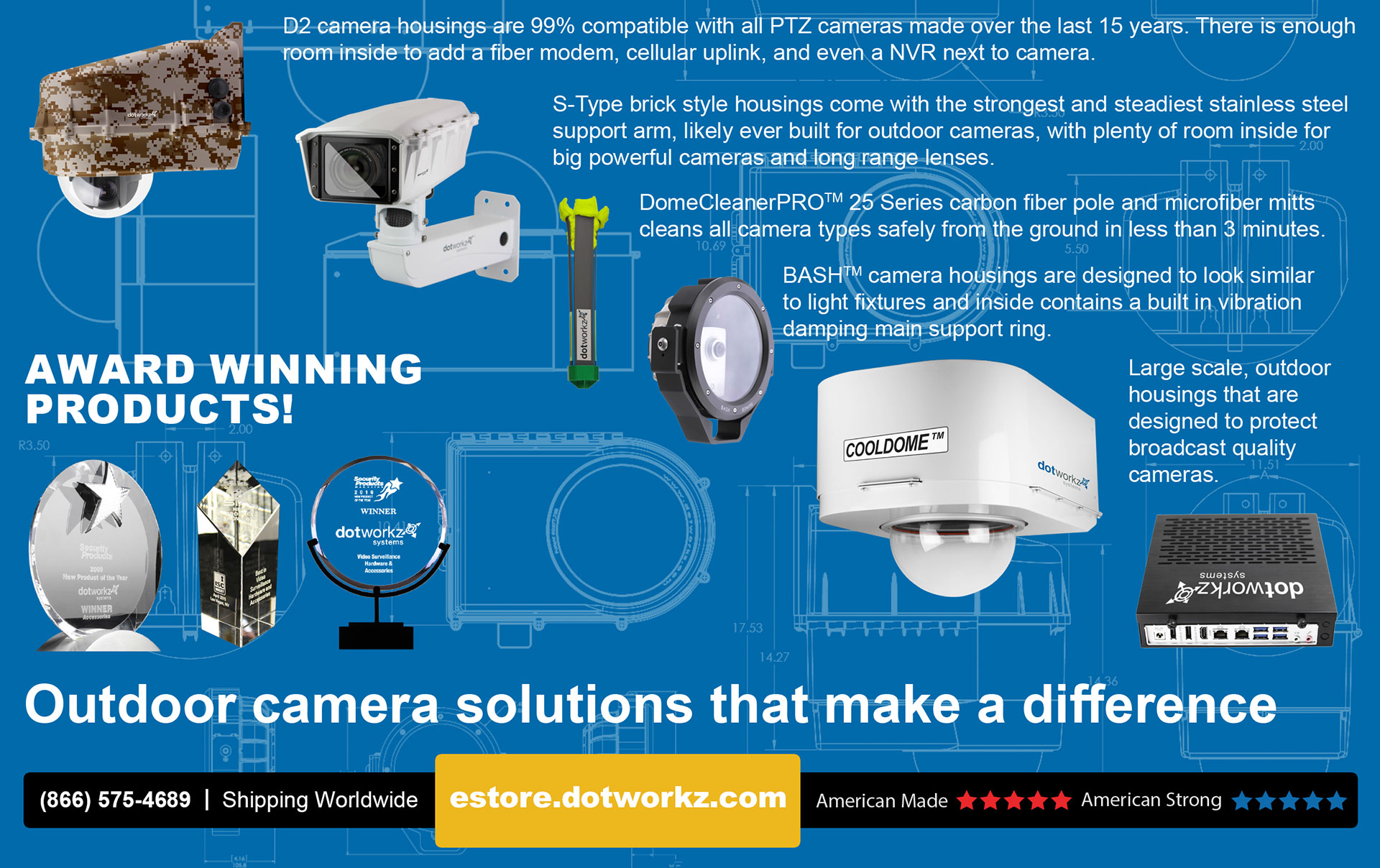 Dotworkz outdoor camera solutions that make a difference