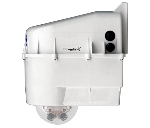 Dotworkz D3 with IP68 for Arecont AV8000 AV8365 or AV8185 Compatible Cameras by Dotworkz Outdoor Camera Enclosures