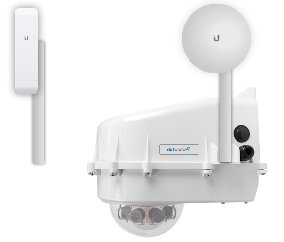Dotworkz KT-UBNT-NANO for Arecont AV8365 or AV8185 Compatible Cameras by Dotworkz Outdoor Camera Enclosures