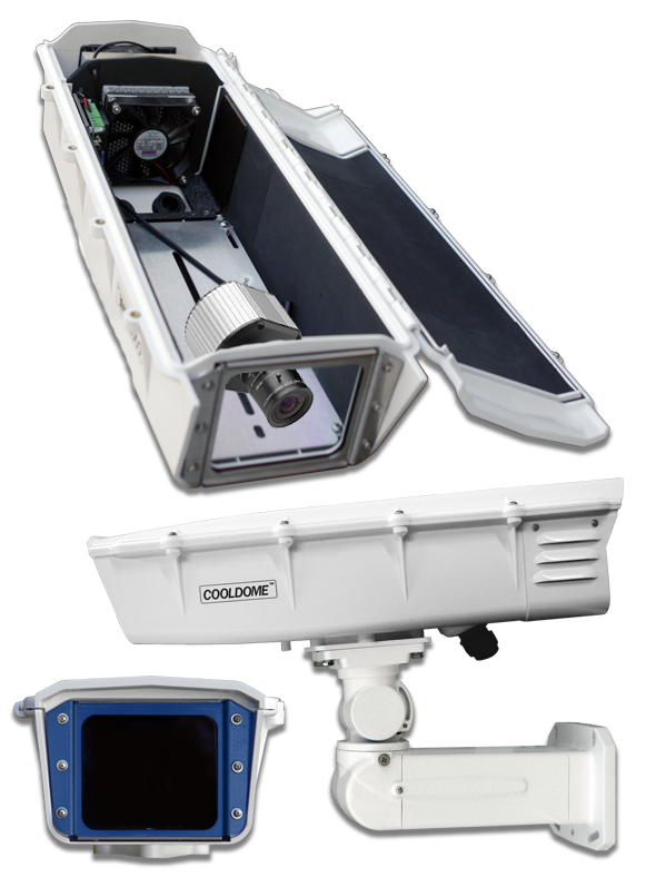 Dotworkz S-Type COOLDOME with IP66 for Arecont AV5100 Fixed Compatible Cameras by Dotworkz Outdoor Camera Enclosures