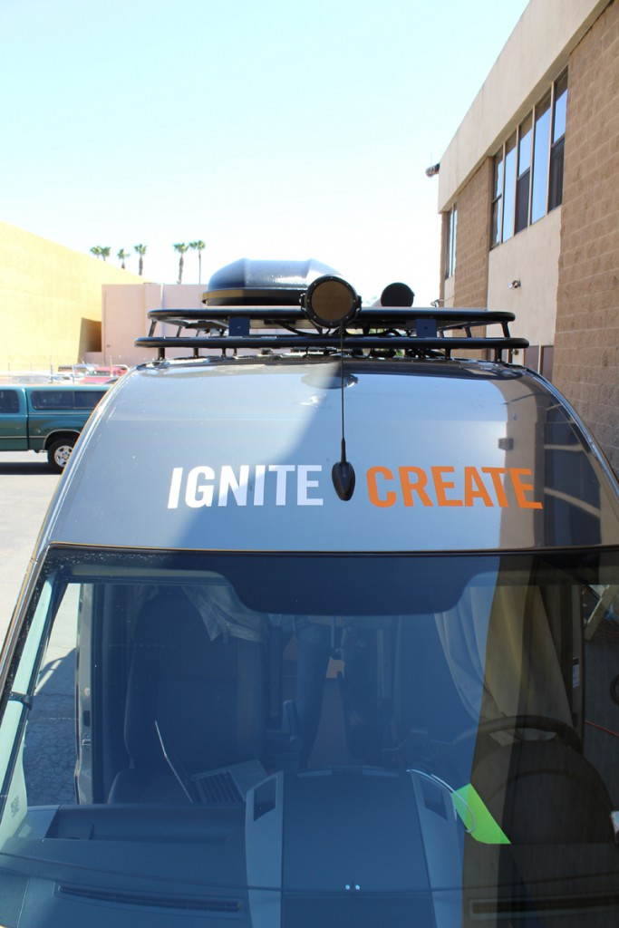 BASH Installation on the Ignite Create USA Tour Van 2015 March 24