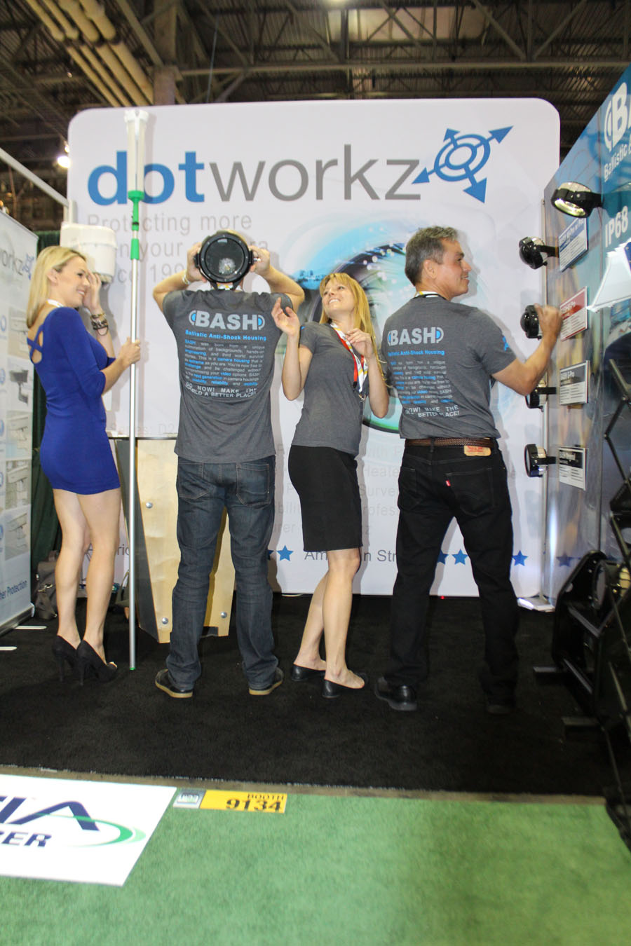 dotworkz 2015 trade show photos isc west 2015 02