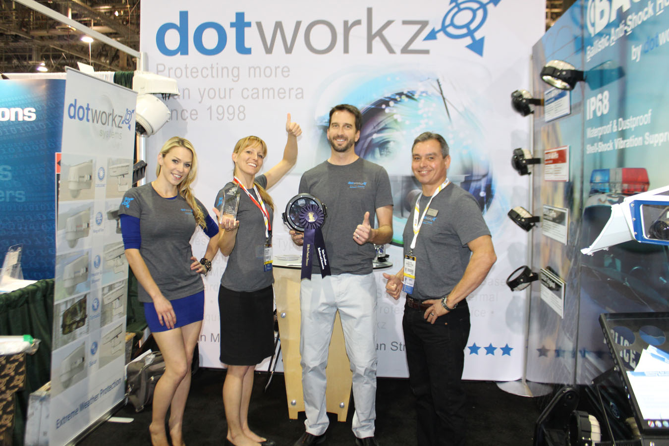dotworkz 2015 trade show photos isc west 2015 12