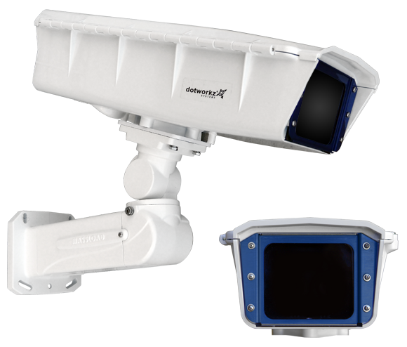 dotworkz s type ip66 for static compatible cameras by dotworkz outdoor camera enclosures