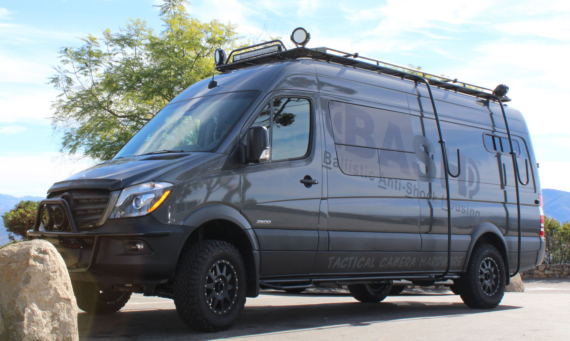 The Smartest All Terrain Video Surveillance Vehicle