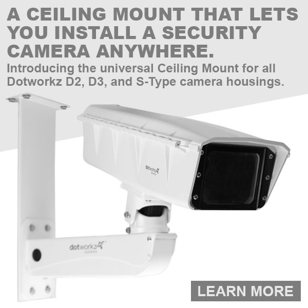 dotworkz 2018 A ceiling mount that lets you install a security camera anywhere