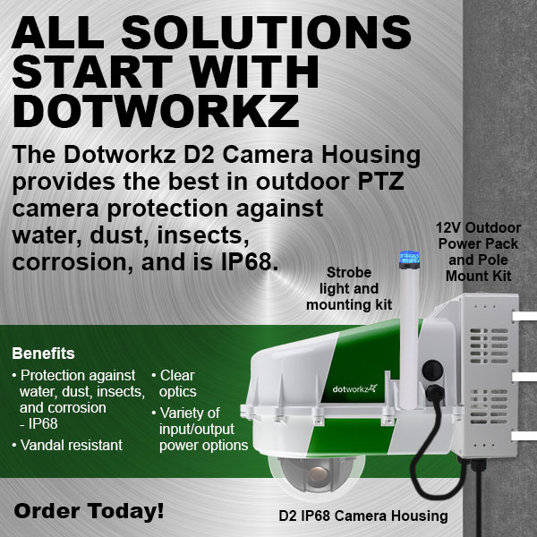 dotworkz 2017 D2 Camera Housing All solutions start with Dotworkz
