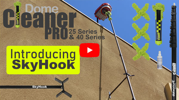 dotworkz 2017 dome cleaner pro 40 series and 25 series plus introducing skyhook play video youtube play 2