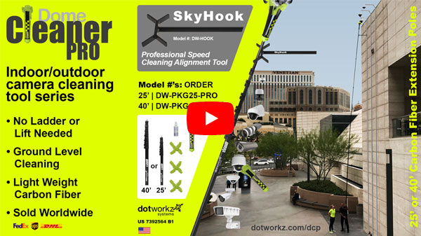 dotworkz 2017 dome cleaner pro 40 series and 25 series plus introducing skyhook play video youtube play