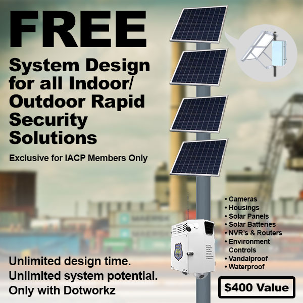 dotworkz 2018 FREE System Design for all Indoor Outdoor Rapid Security Solutions