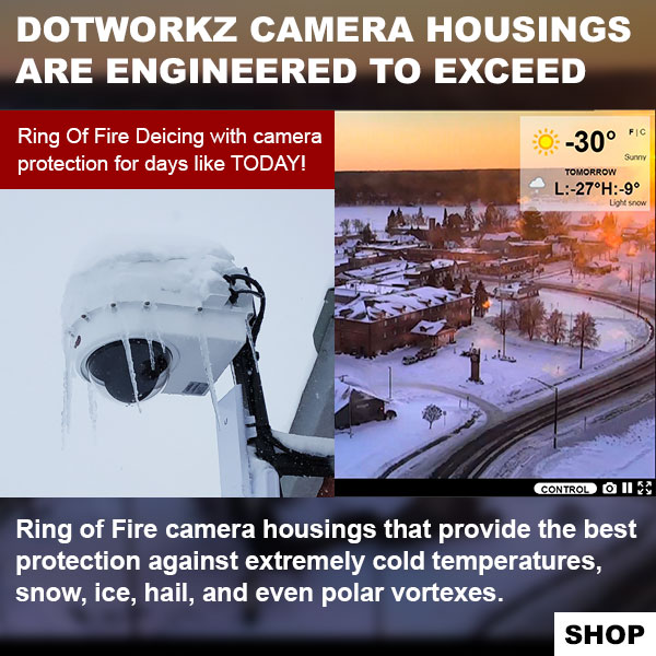 dotworkz 2019 Dotworkz camera housings are engineered to exceed