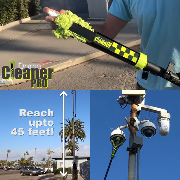 2019 domecleanerpro how to reach 45 foot cameras intro