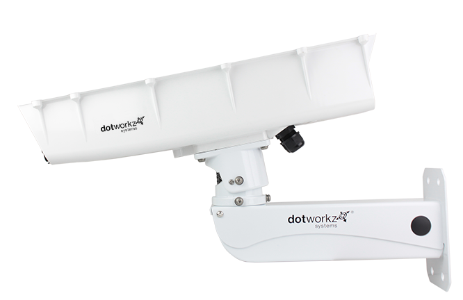 Dotworkz 2019 S-Type Static Camera Enclosure IP66 with Stainless Steel Arm