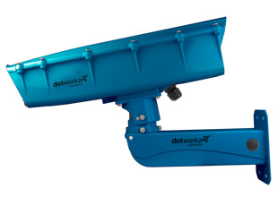 dotworkz 2019 s-type camera housing with stainless steel arm color optoins teal