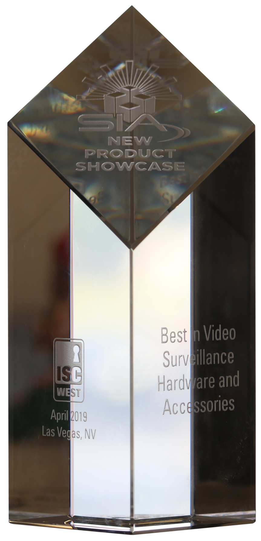 sia 2019 new product showcase aka nps crystal award best in video surveillance hardware and accessories front