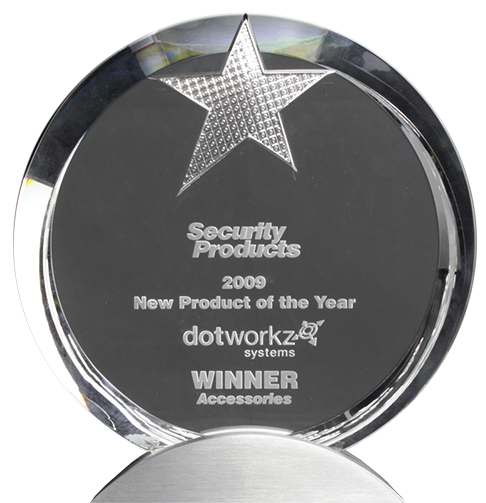 dotworkz award winning camera housings 2009 new product of the year security products magazine