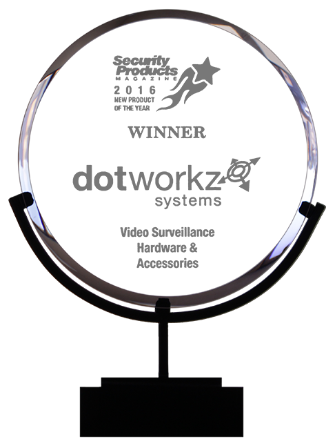 dotworkz award winning camera housings 2016 new product of the year security products magazine clear bg